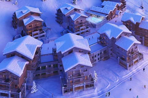 White Pearl in Plagne Soleil will open with wonderful wellness & spa facilities