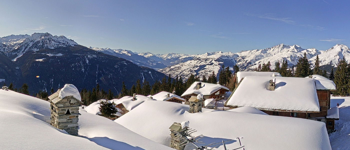 La Rosiere Planica webcam New Year's day