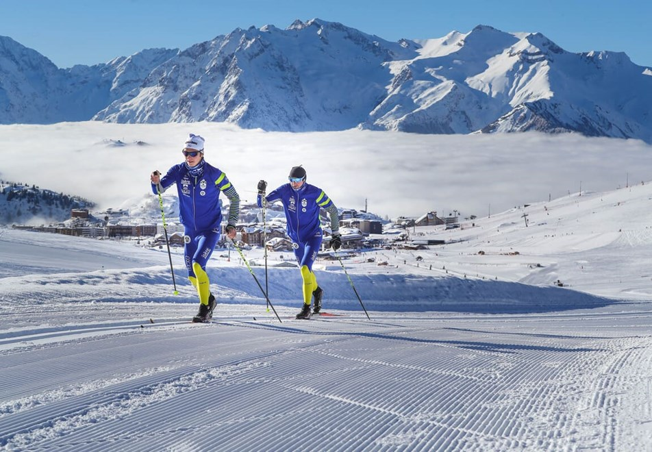 Alpe d'Huez Ski Resort (©Cyrille-Quintard) - Cross country/nordic skiing