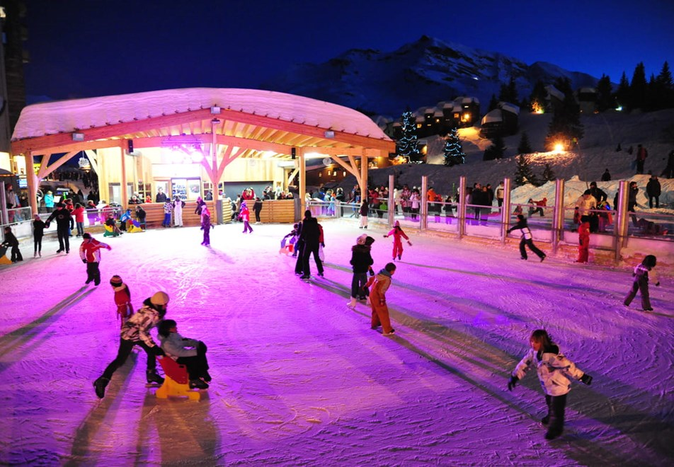 Avoriaz Ski Resort - Ice rink