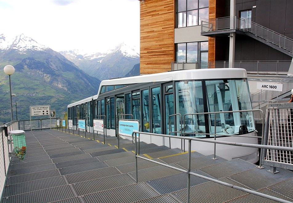 Bourg St Maurice Funicular
