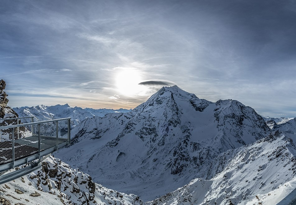 Les Arcs Ski Resort - Aiguille Rouge view point