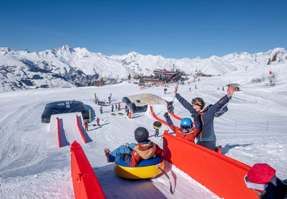 Les Arcs Ski Resort - Family fun
