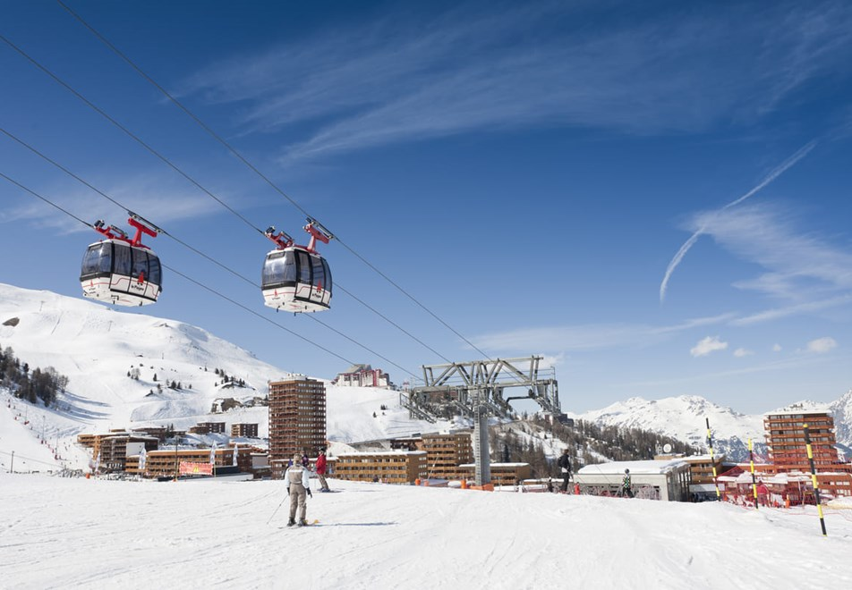 Plagne Centre Ski Resort