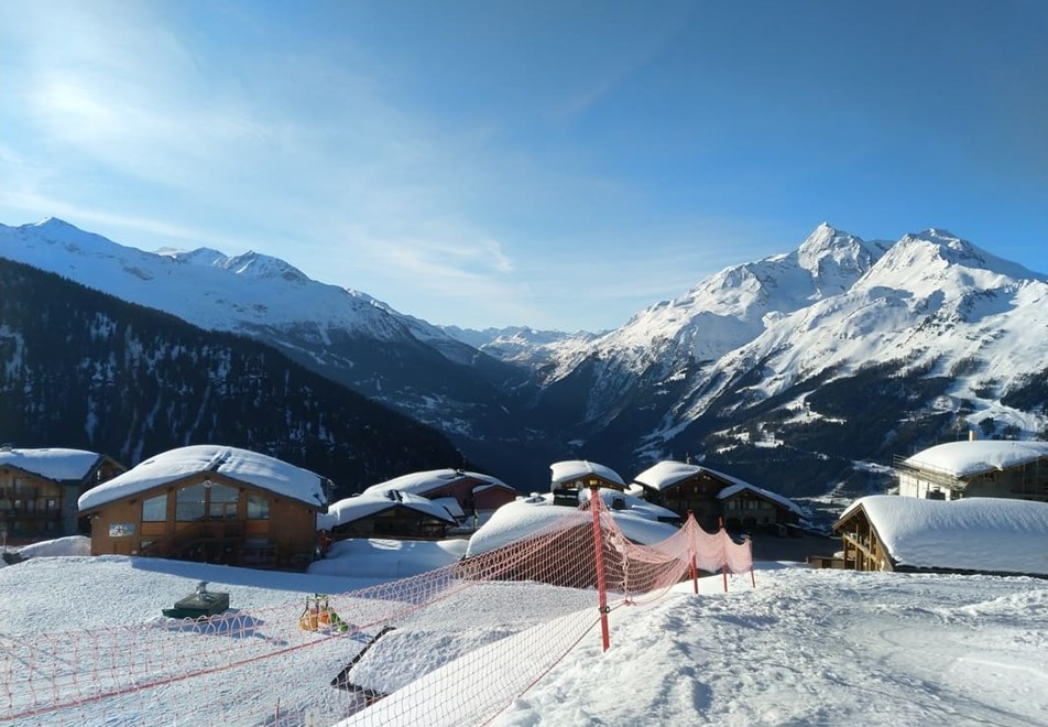 La Rosiere Ski Resort (©OTLaRosiere) - Beautiful scenery