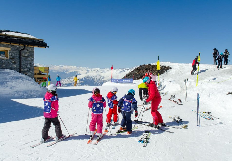 La Rosiere Ski Resort (©RogerMoss) - ESF ski lessons