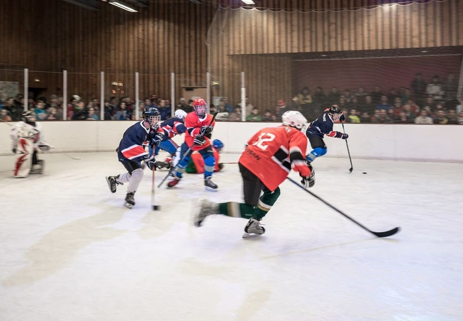 La Rosiere Resort (©OTLaRosiere) - Ice hockey match