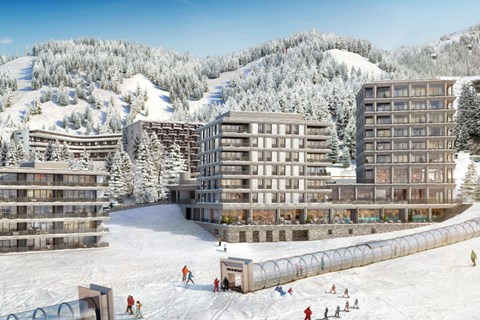 Alhena new apartments in Flaine