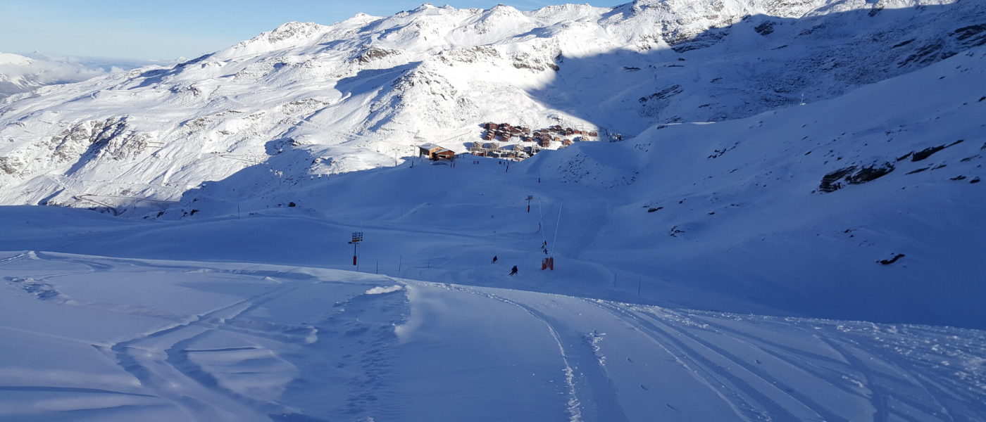 Val Thorens skiing 3 Valleys