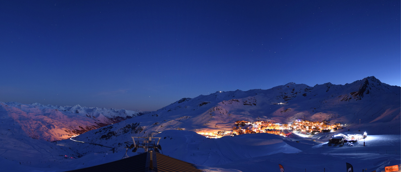 February Half Term webcam Val Thorens